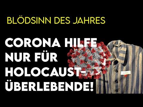 Der Blödsinn des Jahres: Extra-Coronahilfe nur für Holocaustüberlebende
