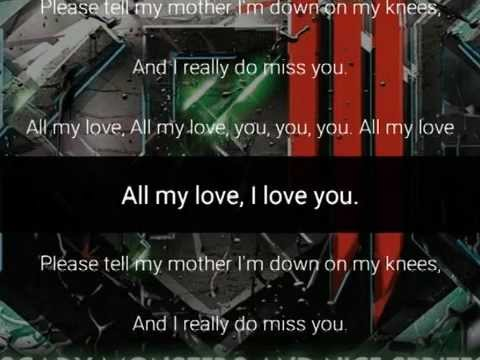 Skrillex - With You Friends (Long Drive) - lyrics