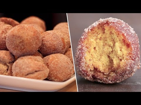 Pumpkin Spice Donut Holes Review- Buzzfeed Test #89