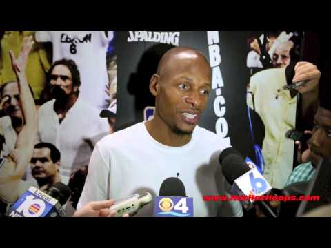 Ray Allen of the Miami HEAT - final interview of the 2013-14 NBA season