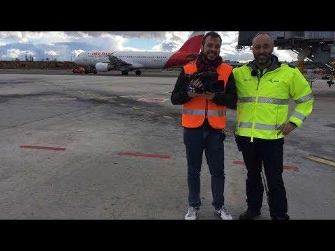 Mi cámara y yo: Los secretos del aeropuerto