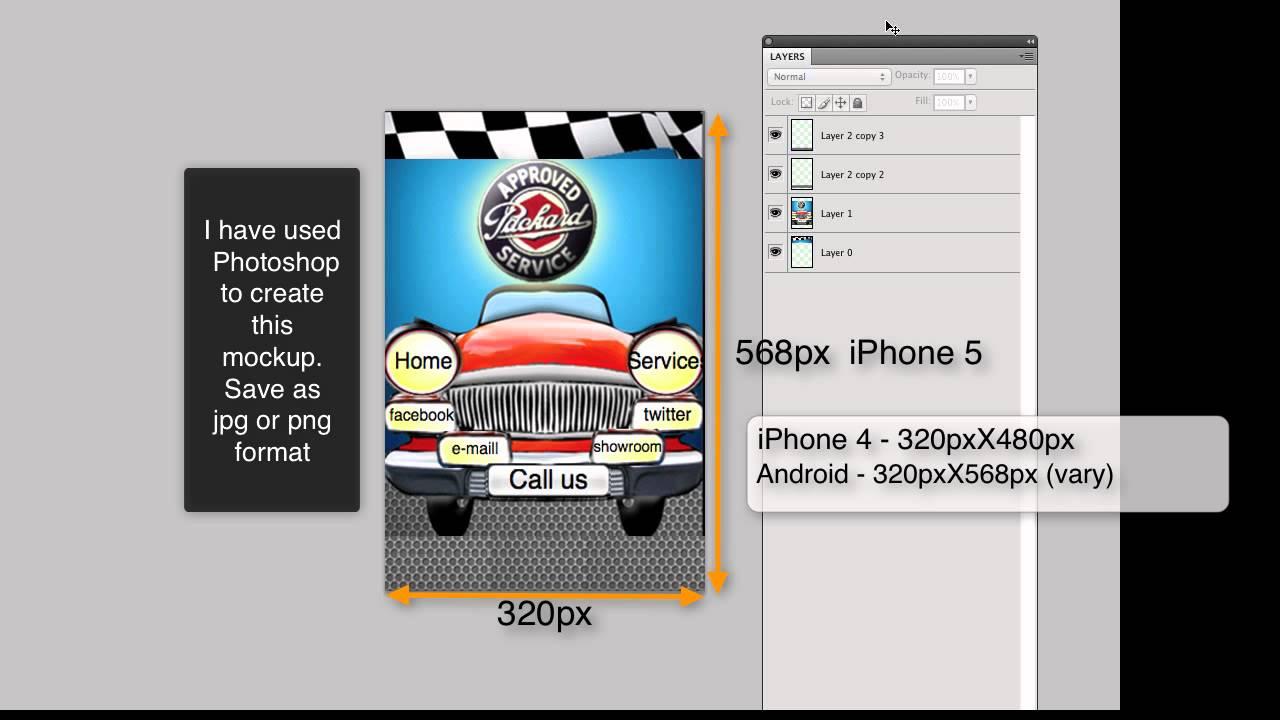 How To Create A Custom App Template - YouTube