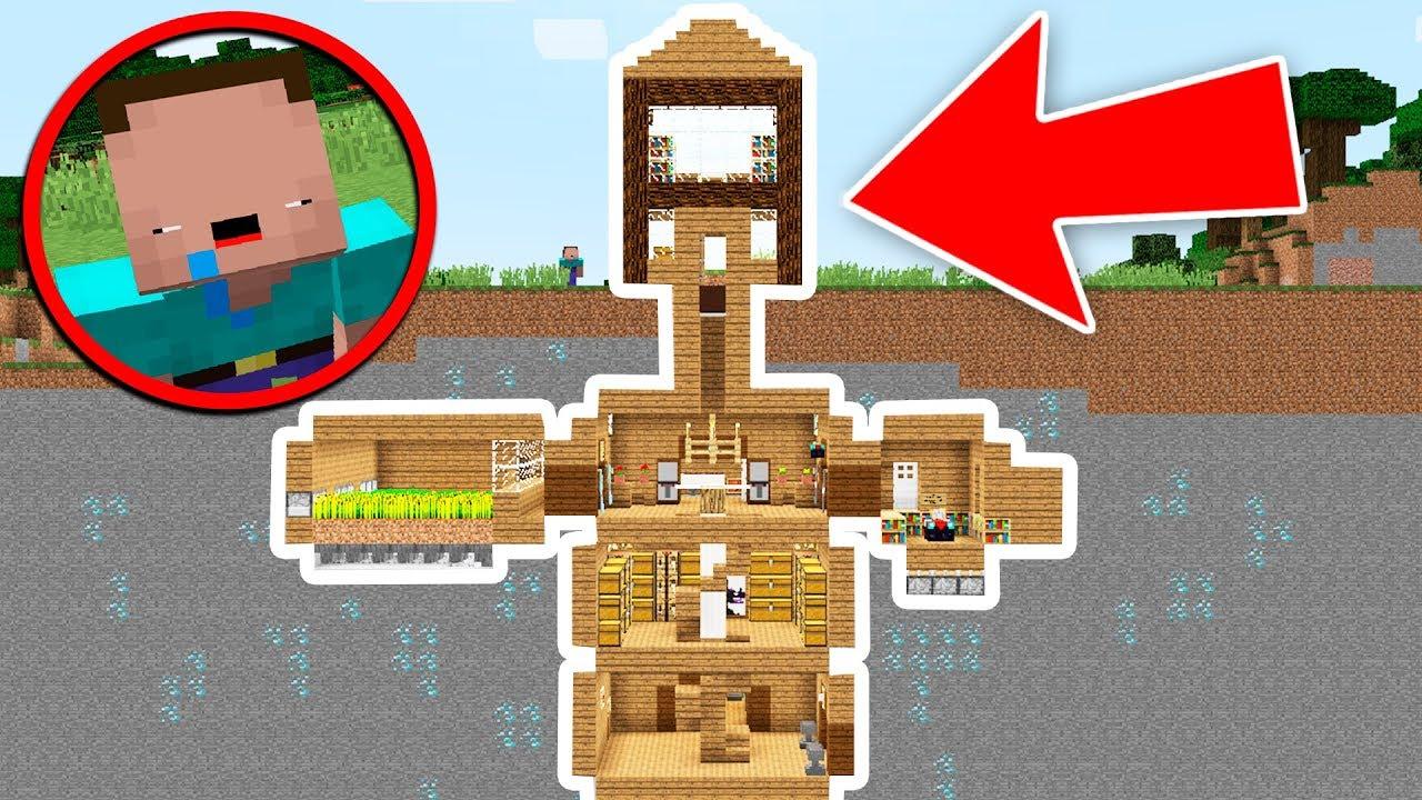 Noob vs casa ultra secreta bajo tierra minecraft troll - Casas bajo tierra ...