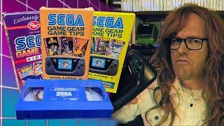 Sega Game Gear VΗS Tapes - Angry Video Game Nerd (AVGN)