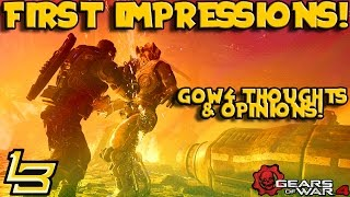FIRST IMPRESSIONS! Gears of War 4 Multiplayer Gameplay!