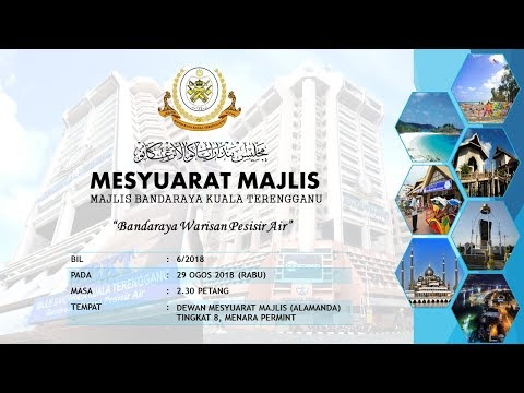 Mesyuarat Majlis MBKT Bil 6/2018