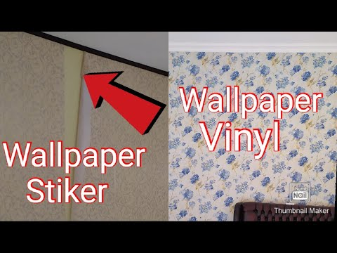 Perbedaan Wallpaper Sticker Dan Wallpaper Vinyl