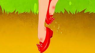 Красные башмачки 12 Танцующих Принцесс Сказки для детей и Мультик