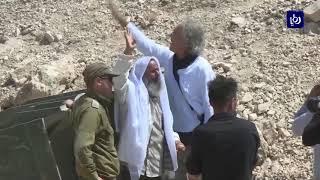 مواجهات مع الاحتلال في خان الأحمر - (14-9-2018)