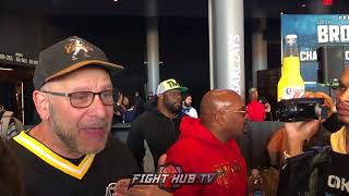 Lou Dibella demands Gennady Golovkin fight Sergiy Derevyanchenko, Goes off!