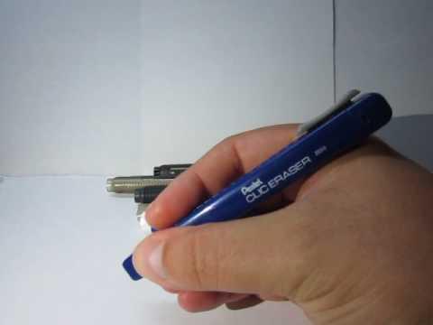Pentel Clic Eraser Product Range Review
