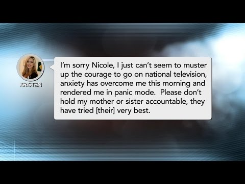 'Anxiety Has Overcome Me,' Texts Guest To Dr. Phil Producer