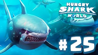 TODOS OS TUBARÕES XXL! - Hungry Shark World #25 (HSW) - BRANCO, BALEIA E ELEFANTE!