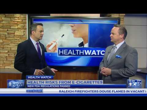 Dr Campbell and the new FDA regulations on e cigarettes