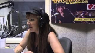 "Judy Tenuta on ""Las Vegas Backstage Talk"" Radio Show with Comic Michele LaFong"