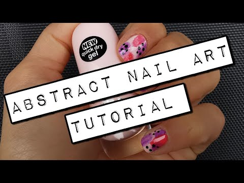 Abstract Nail Art Tutorial thumbnail