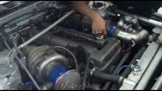 Toyota Corona TT-141  2JZ 3.0 Turbocharger Drift Car .