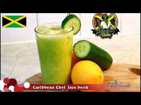 CUCUMBER AND ORANGE DRINK FROM BEST IN THE WORLD !!!  Chef Ricardo Juice Bar