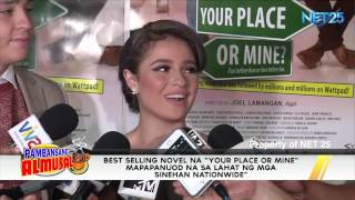 YOUR PLACE OR MINE PREMIERE NIGHT NET25 PAMBANSANG ALMUSAL SHOWBIZ NEWS