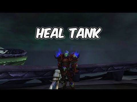 Heal Tank - Blood Death Knight PvP - WoW BFA 8.1