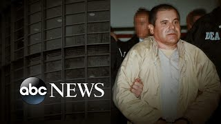 'El Chapo' Complains Before Sentencing: 'There Was No Justice Here'