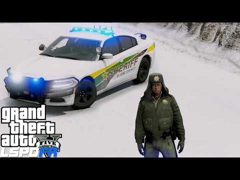 GTA 5 LSPDFR Police Mod #678 Live Blaine County Sheriff Patrol thumbnail