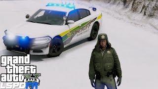 GTA 5 LSPDFR Police Mod #678 Live Blaine County Sheriff Patrol