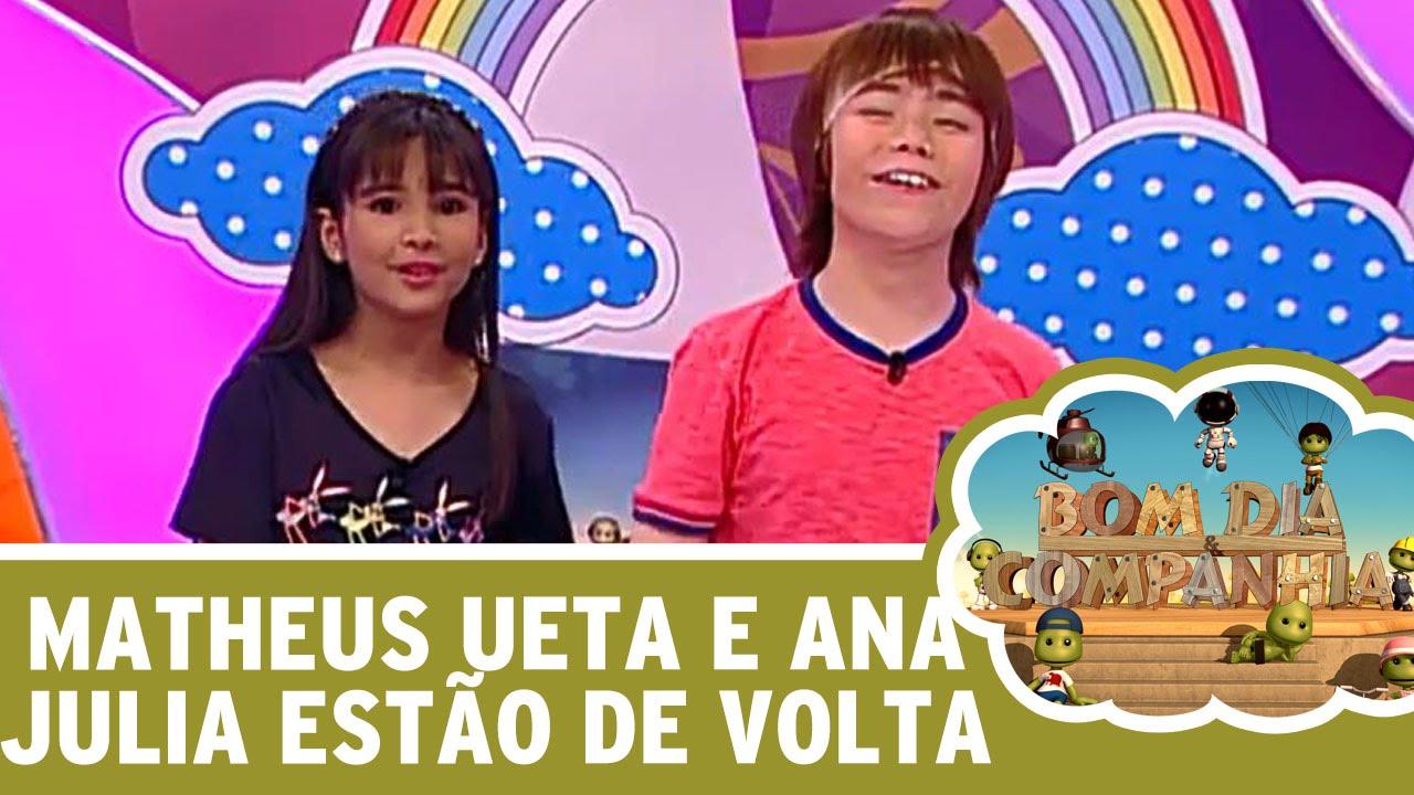 Bom Dia E Cia: Matheus Ueta E Ana Júlia Estão