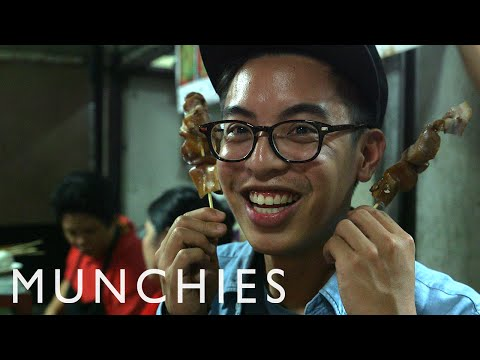 Filipino Street Food, Alcohol, and Pig Faces: Chef's Night Out in Manila