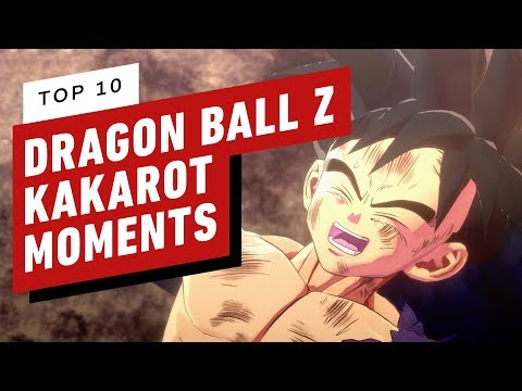 Top 10 Dragon Ball Z: Kakarot Moments
