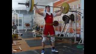 Рахматуллин Альберт, 16 лет, с.в. 69.5 Рывок 70 кг 3х5