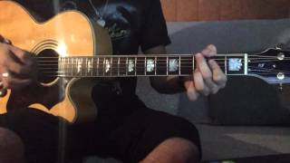 As Long As You Love Me - Justin Bieber ( Dan Kanter) Acoustic Guitar Cover
