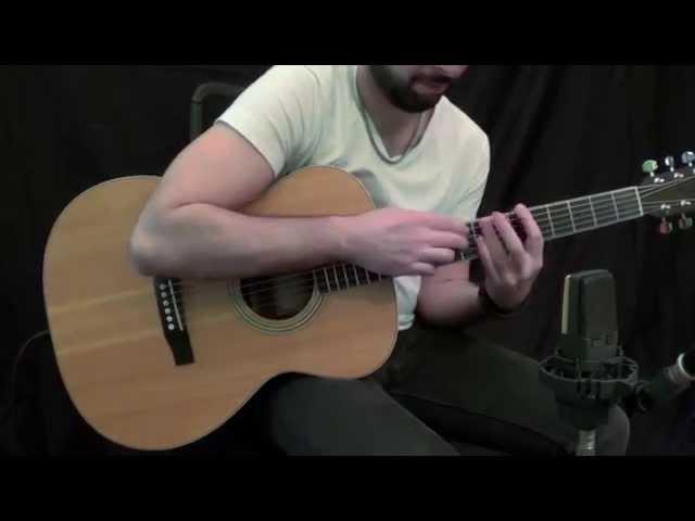 D'Addario EXP test - acoustic guitar