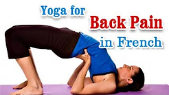 Yoga for Back Pain - Heal Back and Neck Pain Treatment in French