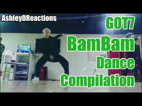 GOT7 BamBam Dancing Compilation