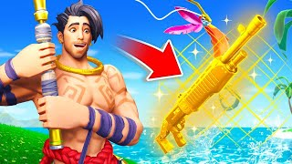 The FISHING LOOT *ONLY* Challenge in Fortnite!