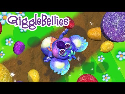 If All The Little Raindrops | Nursery Rhymes | GiggleBellies