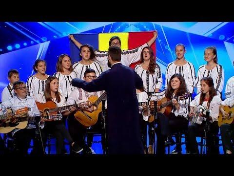 Moment emoționant sustinut de Corul Parohiei Iresti la Romanii au talent!