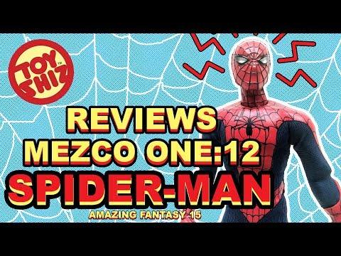 Toy Shiz Reviews: Mezco ONE:12 SPIDER-MAN (amazing fantasy 15)