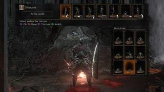 DARK SOULS™ III Ring knight challenge first attempt (FAIL)