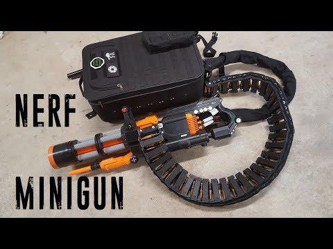 Nerf Rival Minigun (20 rounds/sec, 2000 round capacity)