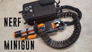 Nerf Rival Minigun (20 rounds/sec, 2000 round capacity) thumbnail