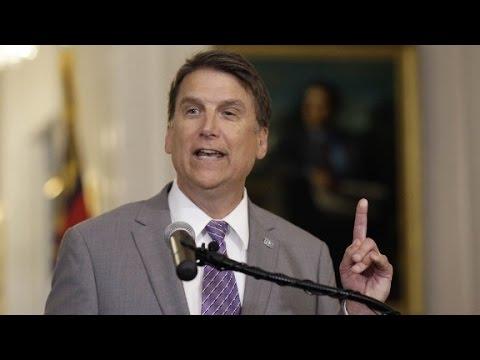 "NC Gov. defends ""bathroom bill"""