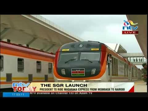 As it happened commissioning of the Standard Gauge Railway
