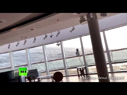 Dramatic: Furniture sliding, parts of ceiling fall off on Viking Sky ship with over 1k on board