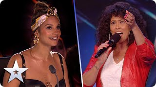 Stepping into the SPOTLIGHT: Belinda Davids takes her One Moment In Time to SHINE! | BGT 2020