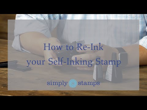 How to Re-Ink a Self-Inking Stamp