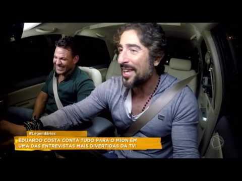Eduardo Costa relembra infância humilde no Carona com o Mion