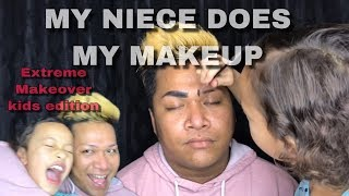 CHUUKESE: My niece BREE does my Makeup