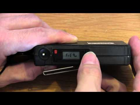 How to operate the Sennheiser EW 100 wireless microphone system